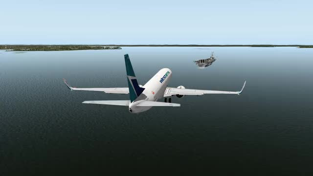 Watch and share Aircraft Carrier GIFs and Boeing 737 GIFs by The Rampant Goat on Gfycat