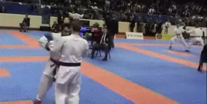 Watch and share Karate Kick GIFs on Gfycat