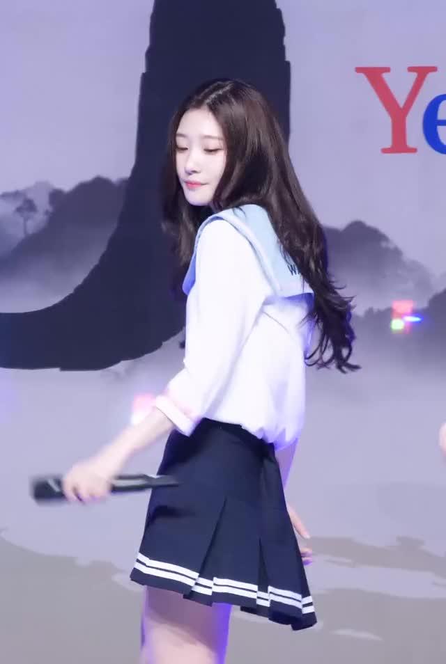 DIA Chaeyeon sailor schoolgirl