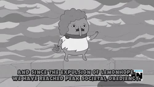 Watch and share Adventure Time Gif GIFs and Earl Of Lemongrab GIFs on Gfycat