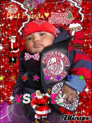 Watch and share Merry Christmas Teunaia DA MIGHTY MONGREL MOB GIFs on Gfycat
