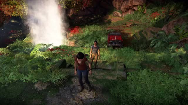 Watch and share UNCHARTED: The Lost Legacy - Western Ghats Gameplay Video   PS4 GIFs on Gfycat