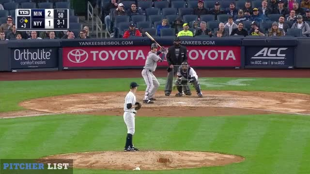 Watch and share Minnesota Twins GIFs and Mauer Fly Ouy GIFs by henry.still on Gfycat