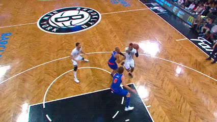 Watch and share Brook Lopez — Brooklyn Nets GIFs by Off-Hand on Gfycat