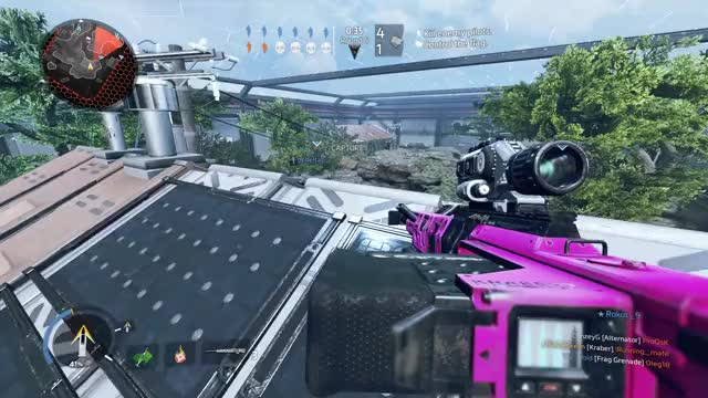 Watch and share Kraber Collat Gmk Meadow 032917 GIFs by freedom85 on Gfycat