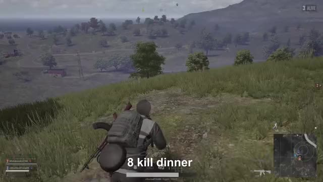 Watch 8 kill dinner GIF by Gamer DVR (@xboxdvr) on Gfycat. Discover more PLAYERUNKNOWNSBATTLEGROUNDS, xWIxiHeaRTshaRK, xbox, xbox dvr, xbox one GIFs on Gfycat