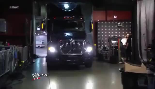 Watch this truck GIF on Gfycat. Discover more WWE, transportation, truck, trucks, wwe GIFs on Gfycat