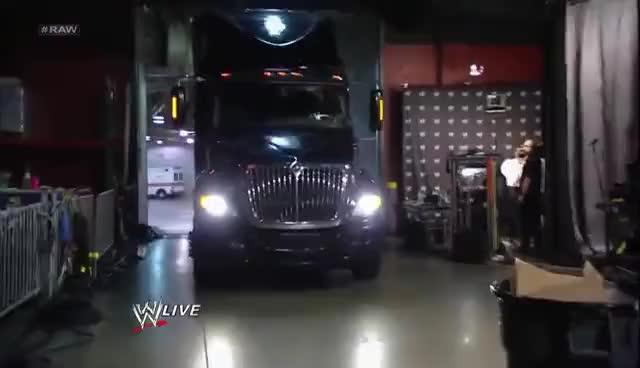 WWE, transportation, truck, trucks, wwe, Truck GIFs
