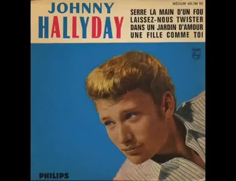Watch Johnny Hallyday - Dans un jardin d'amour - 1962 GIF on Gfycat. Discover more related GIFs on Gfycat