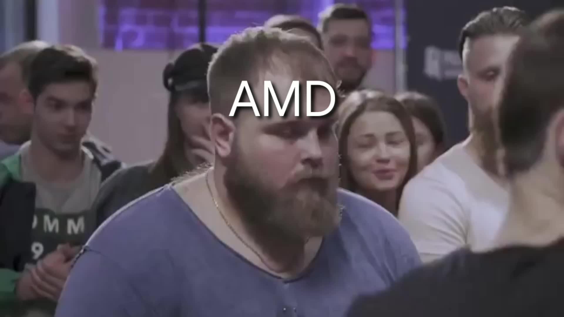 amd, intel, ryzen, cpu, ayymd, AMD at computex GIFs