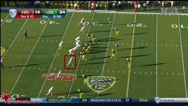 Watch and share Cooper Kupp (Eastern Washington WR) Vs Oregon 2015 GIFs on Gfycat