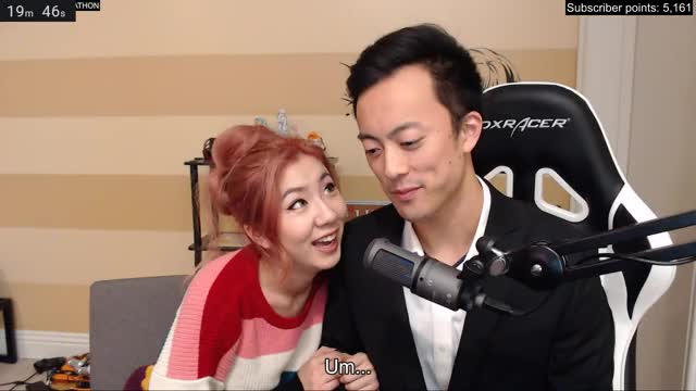 Fuslie thinks Edison is going to propose