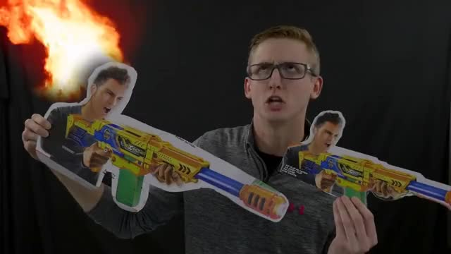 Watch INTIMIDATION GIF on Gfycat. Discover more Blaster, Nerfs, awesome, best, blasters, cool, coop, coop772, epic, gun, guns, nerf, sweet GIFs on Gfycat