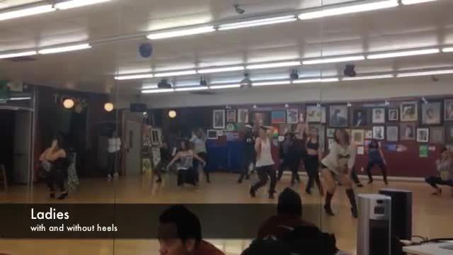 C8: Free Company Class Series (INSIDEout): Salome & Kimmay... Heels Hip Hop (reddit) GIFs