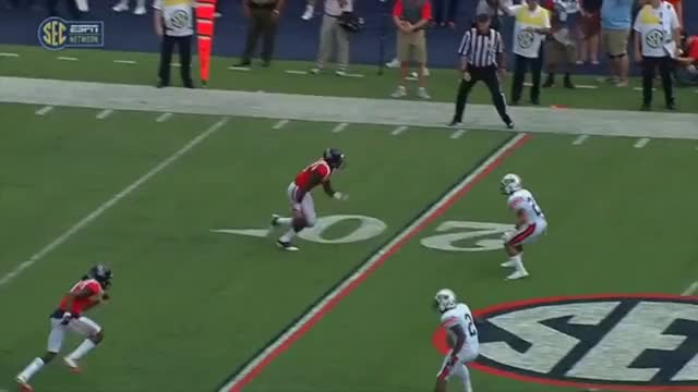 Watch and share Chad Kelly Pick Vs. UT Martin GIFs by jhgray1989 on Gfycat