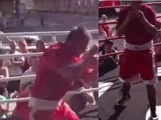 Watch Example of how majority of people execute the left hook GIF on Gfycat. Discover more related GIFs on Gfycat
