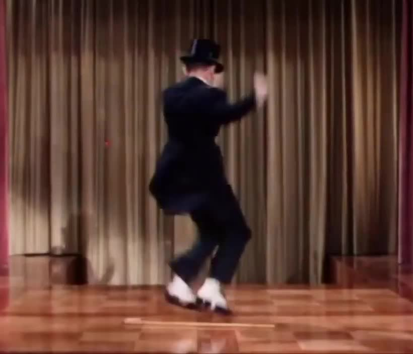 Fred Astaire, May 10 BIrthday, Fred Astaire shows some wicked moves GIFs