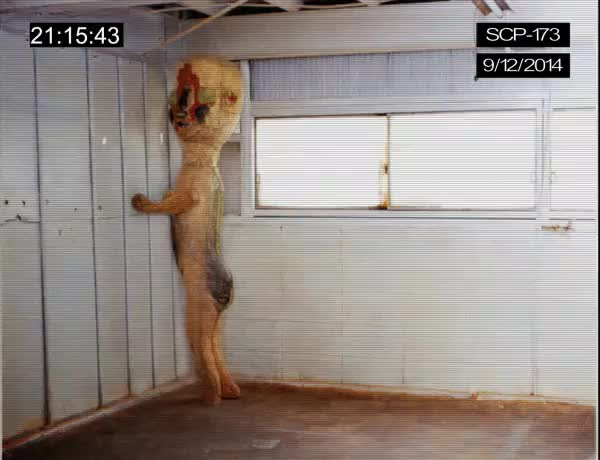 Watch SCP-173 GIF by @excommunicated on Gfycat. Discover more SCP, creepy GIFs on Gfycat