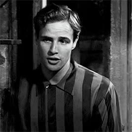 "Watch and share Marlon Brando In The Outtakes From ""A Streetcar Named Desire"". GIFs on Gfycat"