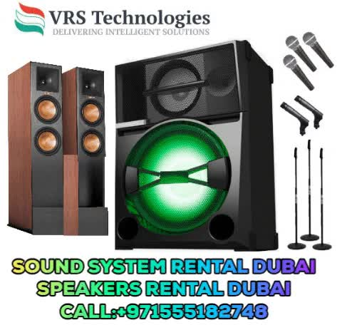 Watch Speakers Rental Dubai Sound System Rental Dubai  AV Rental Dubai GIF by vrscomputers (@vrscomputers) on Gfycat. Discover more related GIFs on Gfycat