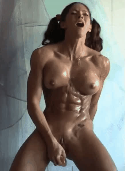 Aspen's abs while having an orgasm are out of this world!