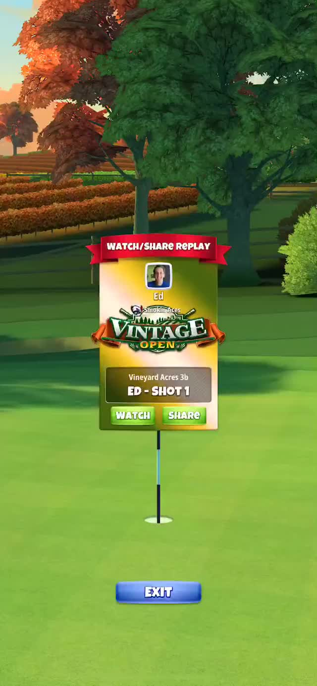 Watch and share Vintage Open - Masters Hole 7 - Q2 Drive GIFs on Gfycat