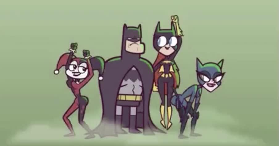party, superhero,  GIFs