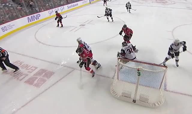 Watch and share Tkachuk Knob Pass And Goal GIFs by Anthony Cook on Gfycat