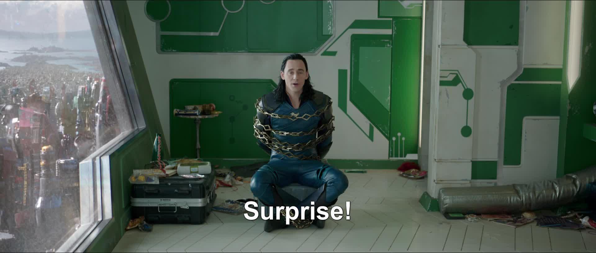loki, ragnarok, surprise, thor, thor ragnarok, Surprise GIFs