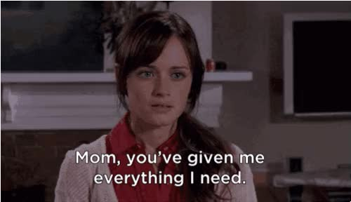 Watch and share Alexis Bledel GIFs and Mom GIFs on Gfycat