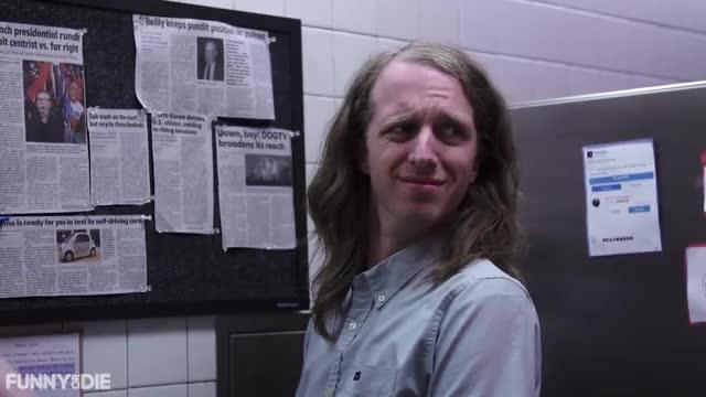 Watch cringe GIF by Funny Or Die (@funnyordie) on Gfycat. Discover more FoD, Funny or Die, Funnyordie, comedy, ▶ Why Is Kevin Garrett Bumming Everyone Out GIFs on Gfycat