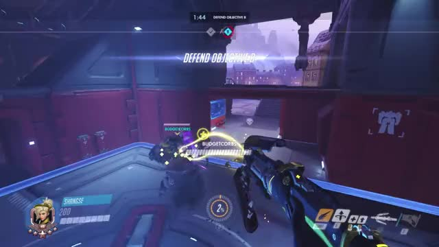 Watch and share Overwatch GIFs and Highlight GIFs by shangse on Gfycat