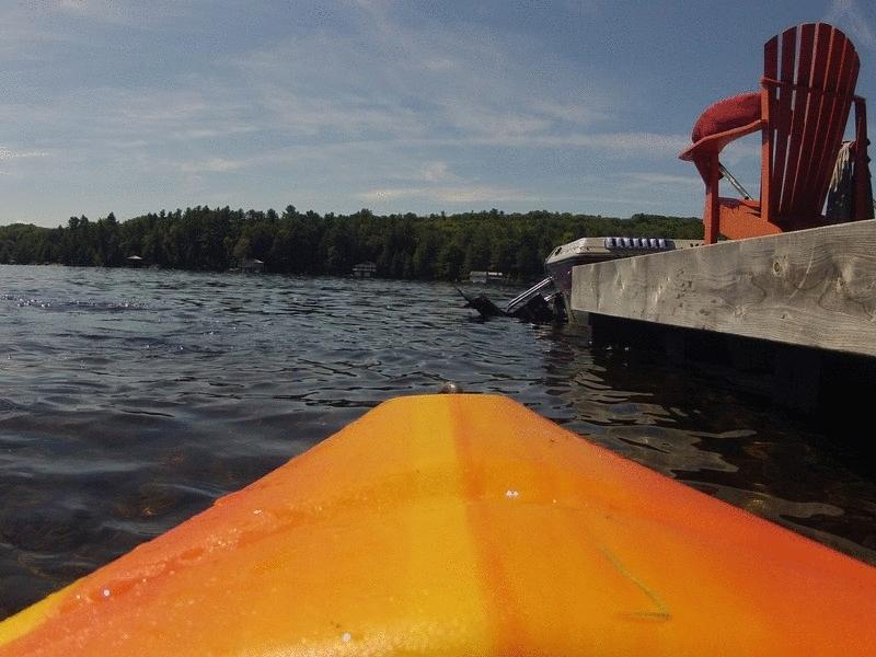 Lake Muskoka Kayaking GIFs