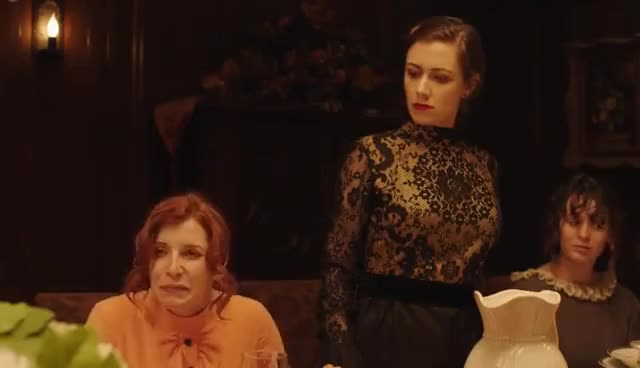 Watch and share Edgar Allan Poe's Murder Mystery Dinner Party Ch. 2: The Masque Of The Red Death GIFs on Gfycat