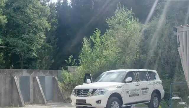 Watch and share Nissan Patrol Bulletproof GIFs on Gfycat