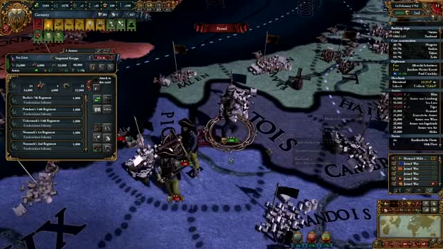 Watch Attacking 90k French with 50k Prussians GIF by @dunskap on Gfycat. Discover more EU4, Europa Universalis, eu4 GIFs on Gfycat