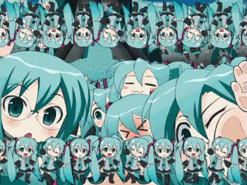 Watch Hatsune Miku GIF on Gfycat. Discover more related GIFs on Gfycat
