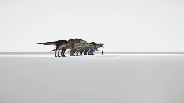 Watch and share Dinosaur Comparison GIFs and Biggest Dinosaur GIFs on Gfycat