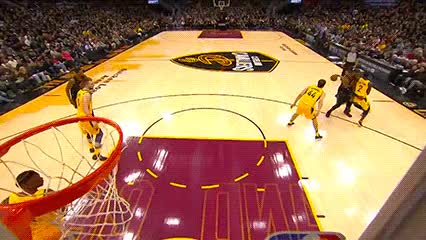 Watch and share George Hill And LeBron James — Cleveland Cavaliers GIFs by Off-Hand on Gfycat