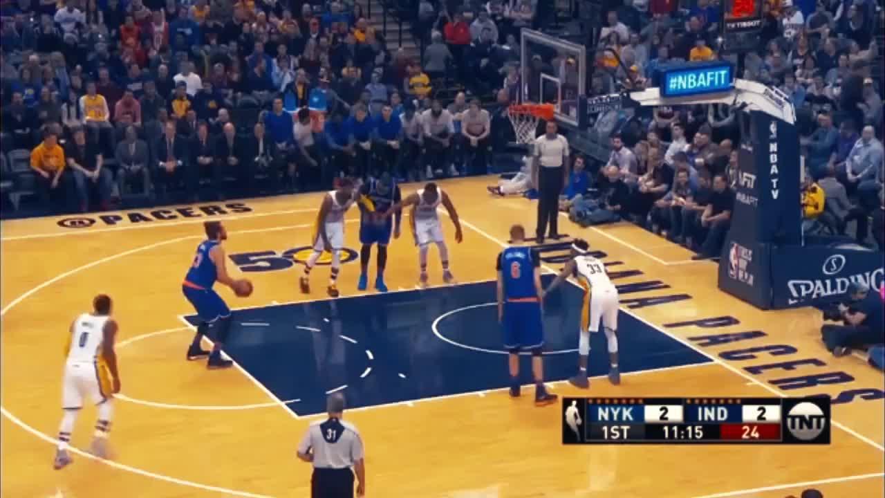 Indiana Pacers, New York Knicks, basketball, NBA GIFs