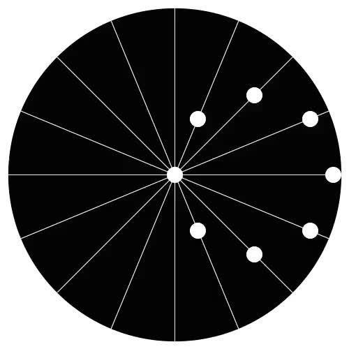 Watch and share Each Dot Moves In A Straight Line. (reddit) GIFs on Gfycat