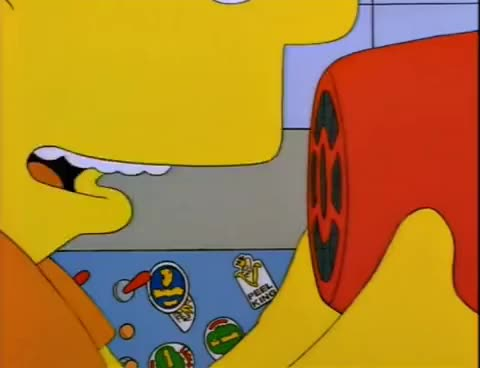 Watch and share The Simpsons - Bart's Megaphone Testing GIFs on Gfycat