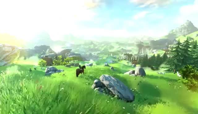 Watch and share Entrevista Con El Desarrollador - The Legend Of Zelda (Wii U) GIFs on Gfycat