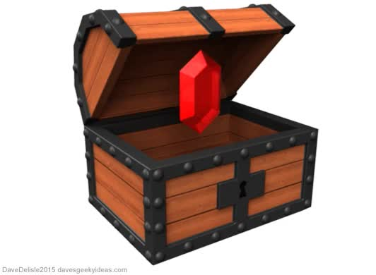 Watch and share Treasure Chest GIFs on Gfycat