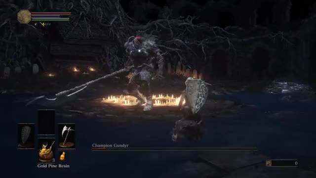 Watch and share SL1 NG+7  Champion Gundyr GIFs by fallenapollyon on Gfycat