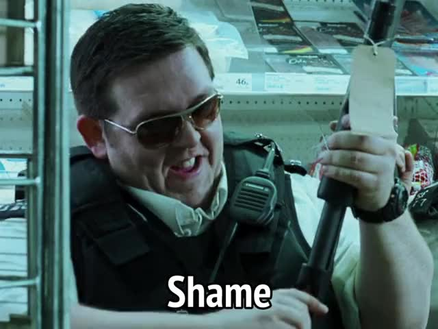 Watch and share Hot Fuzz GIFs and Shame GIFs by MikeyMo on Gfycat