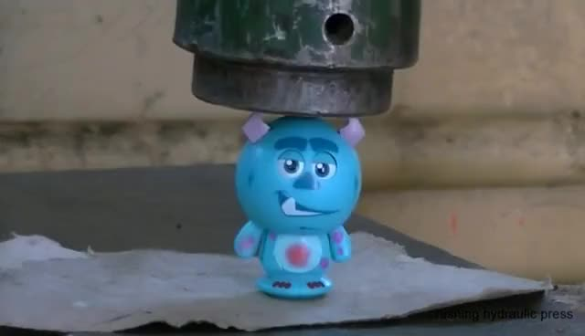 Watch and share Hydraulic Press Vs Spray, Glass, Toy Cars, Sand, Coins, Play-Doh, RHNB, Orbeez GIFs on Gfycat
