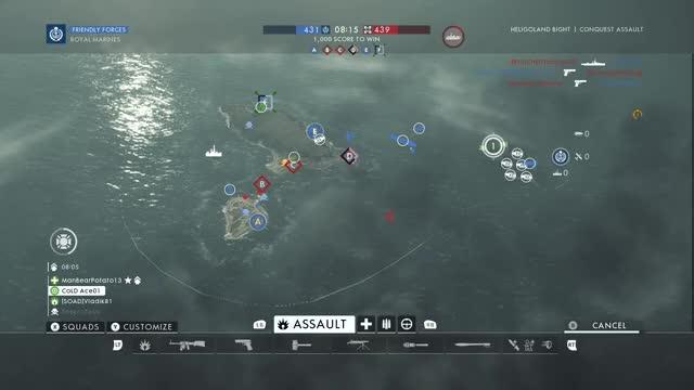 Watch Boat v. Plane GIF by xboxdvr on Gfycat. Discover more Battlefield1, Theprofesa, xbox, xbox dvr, xbox one GIFs on Gfycat