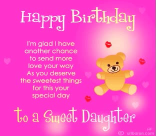 Watch and share Happy Birthday Wishes Pics Daughter GIFs on Gfycat