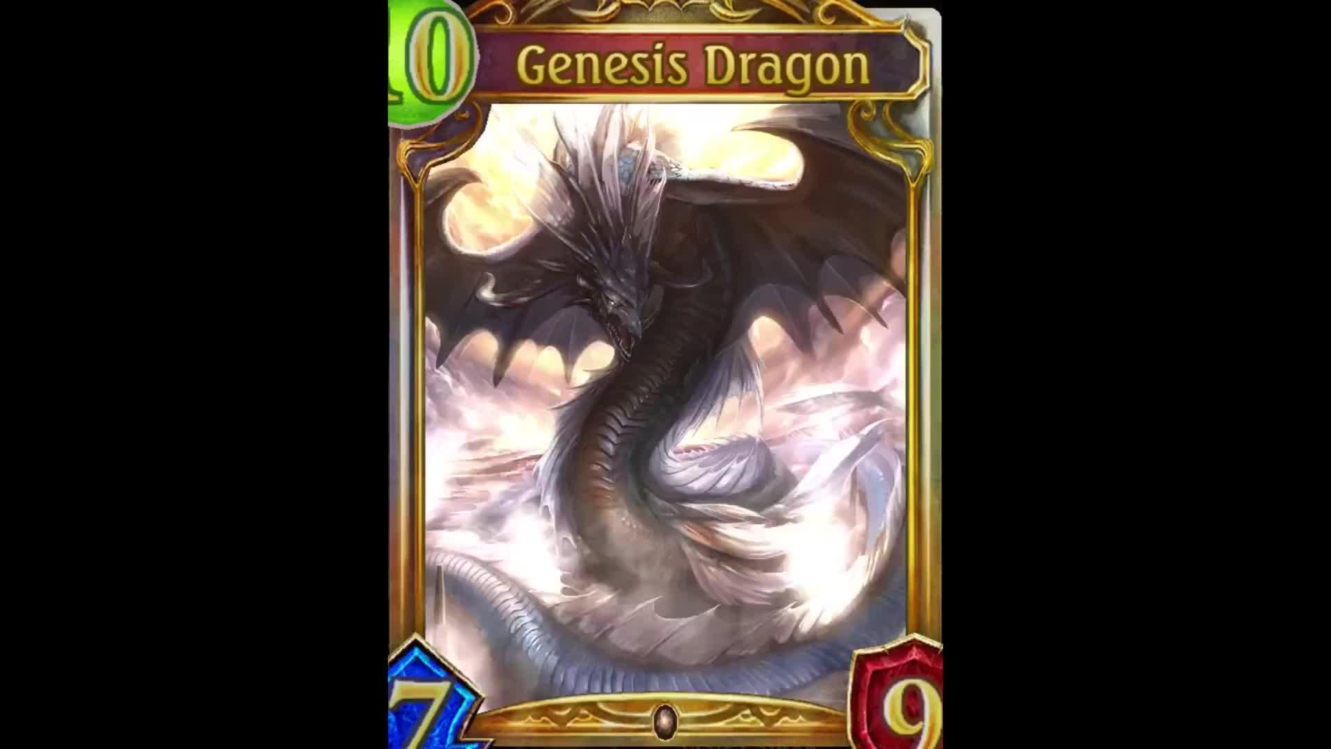 Shadowverse, hearthstone, Custom Gold Card Effects (reddit) GIFs